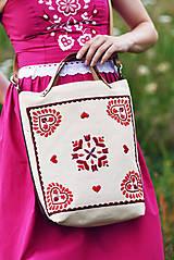 - Vyšívaná taška Slavena - 9633220_