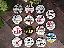 Odznaky/Brošne - Svadobní hostia odznaky - 9633664_