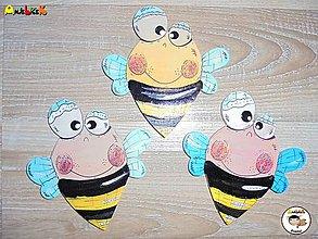 Magnetky - Magnetka - včielka - 9635981_