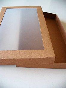 Krabičky - krabička s okienkom - 9635380_
