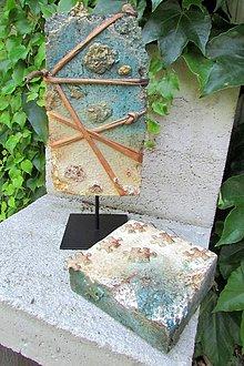 Socha - Z doby kamennej (Kváder a kocka) - 9634830_
