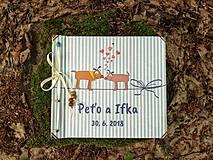 Papiernictvo - Fotoalbum klasický, polyetylénový obal s potlačou ,,Škúľavé pesíky,, (bez nápisu alebo s) - 9633549_
