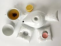 Nádoby - Peřinkový čaj pro dva (kapky) - 9635728_