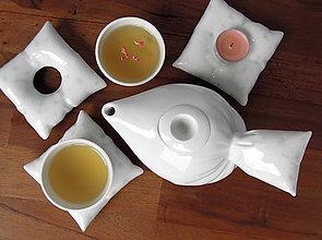 Nádoby - Peřinkový čaj pro dva (pampeliška) - 9635773_