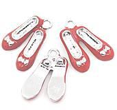 Komponenty - Prívesok topánočky 1,9 x 1,4 cm - 9635180_