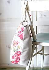 Veľké tašky - Šípová plátenná shopperka - 9633604_