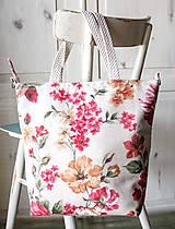 Veľké tašky - Šípová plátenná shopperka - 9633605_