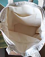Veľké tašky - Šípová plátenná shopperka - 9633606_
