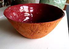 Nádoby - Veľká keramická misa - 9636132_