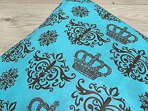 Úžitkový textil - královsky modrý - vankúš - 9633043_