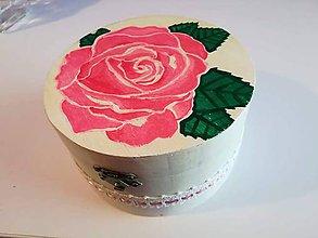 Krabičky - Šperkovnica Rosemary cena znížená z 18€ na 12€ - 9633721_