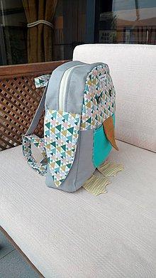 Detské tašky - Detský (backpack) batoh - tučniak - 9633659_