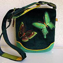 Kabelky - Kabelka Motýle na lúke - 9634549_