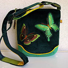 Kabelky - Kabelka Motýle na lúke (č.4) - 9634549_