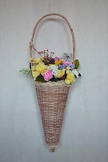Košíky - Závesná dekorácia (Béžová) - 9634867_