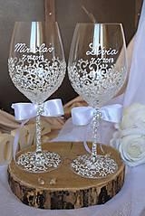 Nádoby - Svadobné poháre - 9638023_