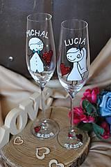 Nádoby - Svadobné poháre - 9638180_
