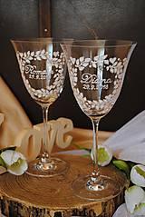 Nádoby - Svadobné poháre - 9638239_