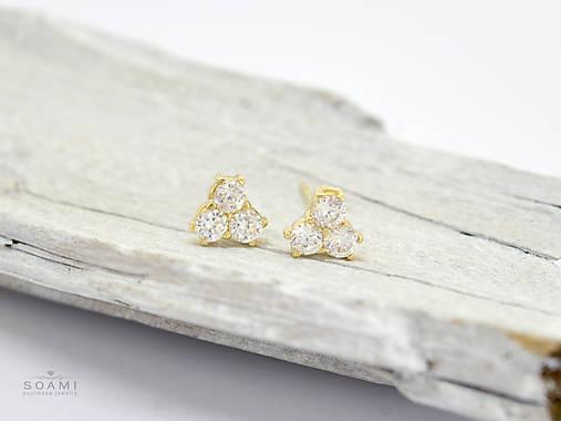 202d026fc 14k zlaté náušnice / soamijewelry - SAShE.sk - Handmade Náušnice