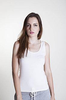Tričká - Tričko off white - 9637057_