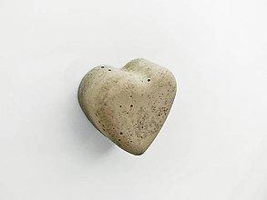 Magnetky - betónová magnetka We Heart It - 9639461_