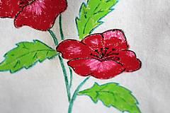 Úžitkový textil - Taška maľovaná - 9636821_