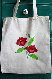Úžitkový textil - Taška maľovaná - 9636820_