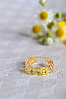 Prstene - Prsteň Baza a zlato (2469 A) - 9637996_