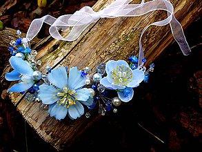 Náhrdelníky - náhrdelník alebo ozdoba do vlasov - 9636943_