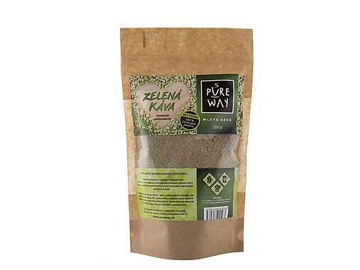 Zelená káva 100 %, 200 g