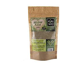 Potraviny - Zelená káva 100 %, 200 g - 9637334_