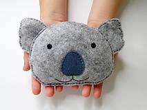 - Mini hrejivý vankúš (Koala) - 9638020_