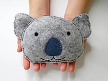 Mini hrejivý vankúš (Koala)