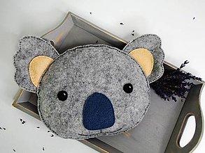 Textil - Hrejivý vankúš (Koala) - 9637796_