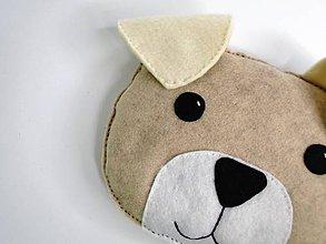 Textil - Hrejivý vankúš (Psík) - 9637940_