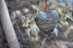 Dekorácie - Srdiečko z lásky - 9638120_