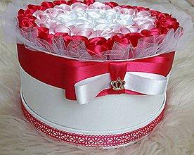 Drobnosti - Darčeková krabica ruží - 9638242_