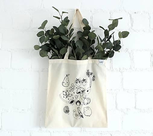 Nákupná taška Zelovocníčkovia
