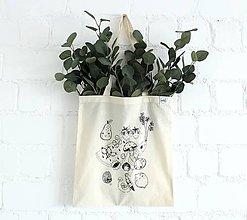 Nákupné tašky - Nákupná taška Zelovocníčkovia - 9638552_