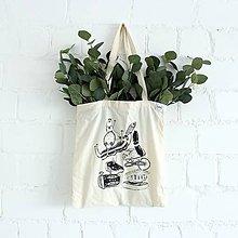 Nákupné tašky - Nákupná taška Mäsko - 9638563_