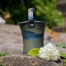 Nádoby - Vařečkovnice/váza/květináč Panenka - Z hlubin Země - 9639531_