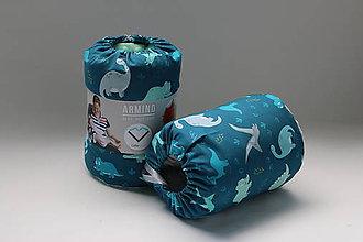 Textil - Dojčiaci vankúš DINO - 9637598_