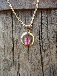 Iné šperky - Zirkónik v zlate - 9636978_