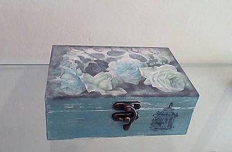 Krabičky - krabička ruže - 9639352_