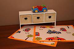 Úžitkový textil - Detské prestieranie - DOPRAVNÉ PROSTRIEDKY - 9636947_