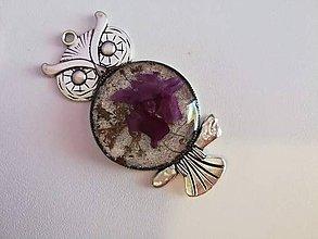 Iné šperky - Prívesok Violet - 9637214_