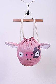 Detské tašky - Ruksačik Prasiatko - 9639641_