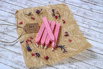 Suroviny - Pečatný vosk - Jemne ružový - 9639082_