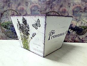 Nádoby - Kvetináč Levanduľa - 9638806_