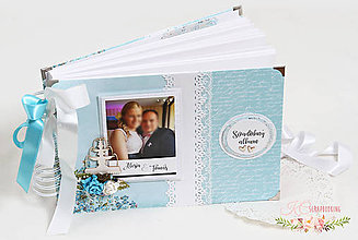 Papiernictvo - Svadobný fotoalbum I - 9641827_